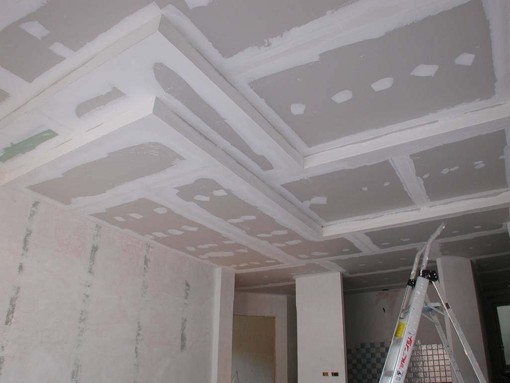 Come si realizza un controsoffitto isolante in cartongesso for Controsoffitto cartongesso
